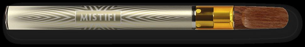 MISTIFI Premium Cannabis Vape Pen horizontal