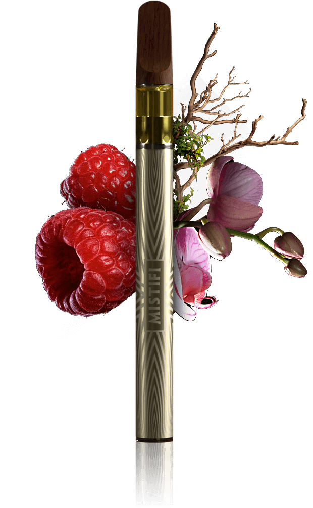 MISTIFI Houdini Premium Cannabis Vape Pen and Flavors Berry Floral Earthy Pure Nature Experience