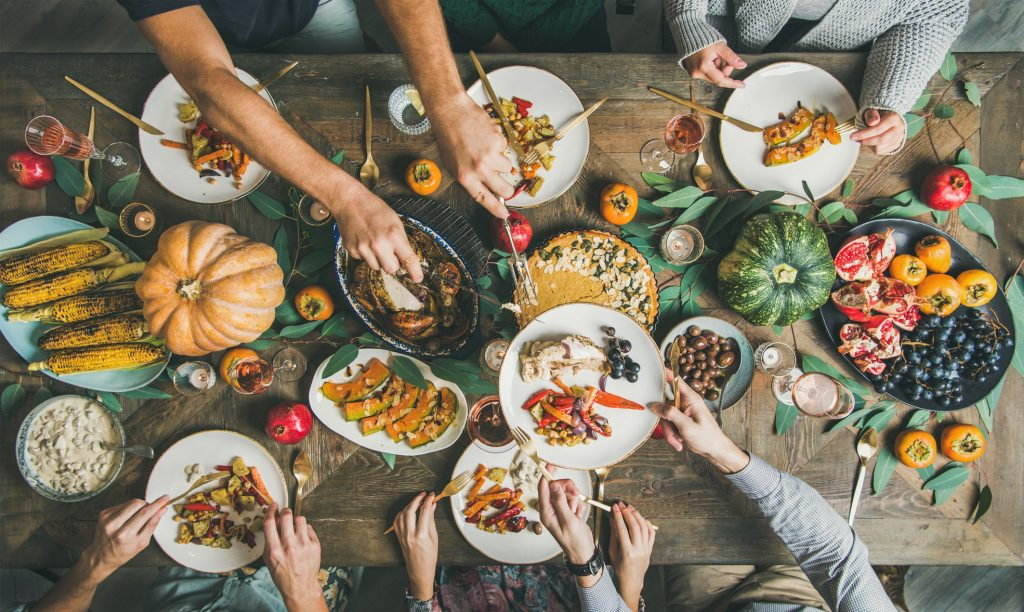 thanksgiving and weed friendsgiving ideas